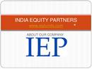 IEP Fund Advisors India